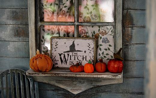 Halloween-decor jigsaw