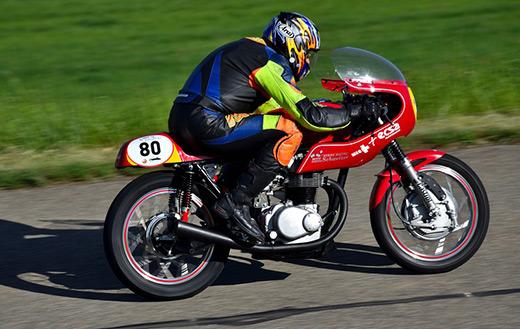 Motorcycle Hillclimb Oldtimer