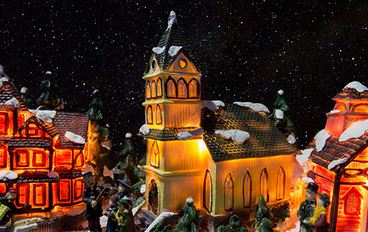 Christmas village jigsaw