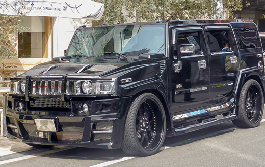 Hummer jigsaw puzzle
