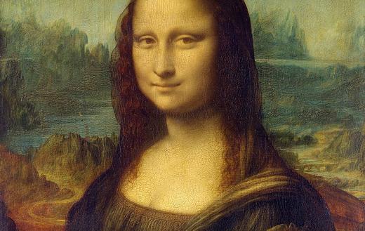 Mona lisa jigsaw puzzle
