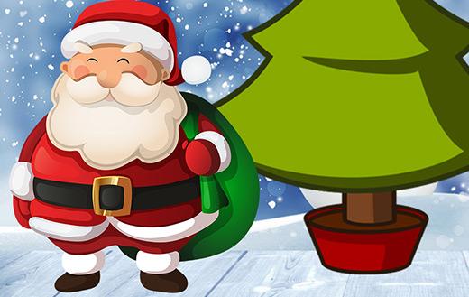Santa claus jigsaw