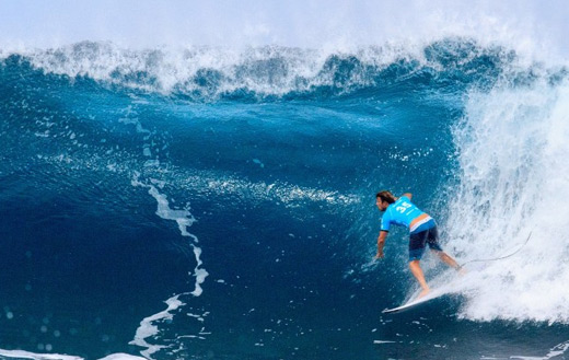 Surfing jigsaw puzzle