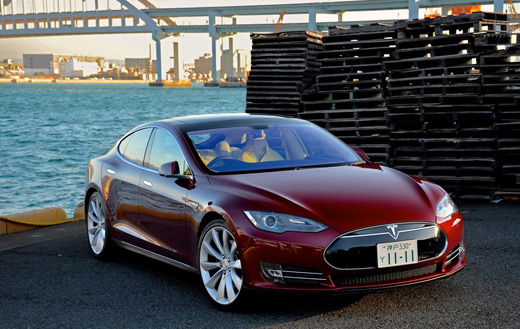Tesla model s jigsaw puzzle