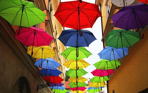 umbrellas jigsaw