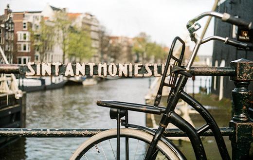 bike in amsterdam