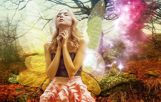 Fantasy Spiritual woman
