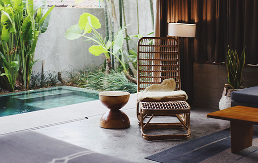 brown-wooden-chair interior