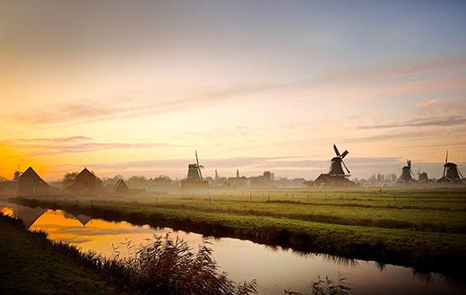 Zaanse Schans Nederland