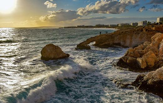 Landscape formation coast sea