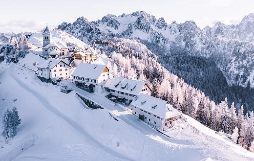 Monte Lussari Tarvisio Italy