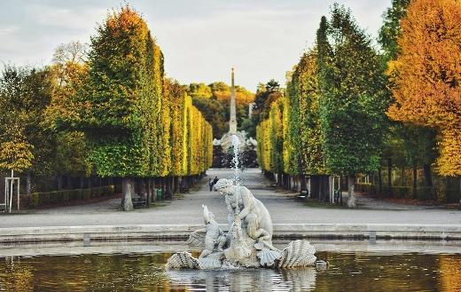 Schönbrunn Vienna Austria online puzzle