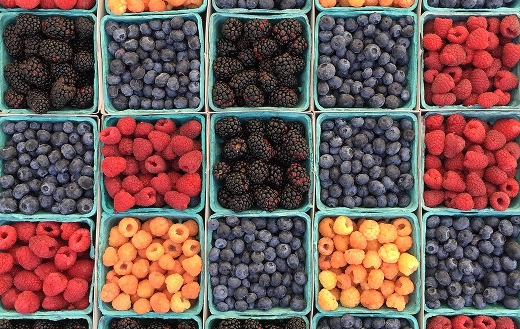 Assorted berries Los Angeles United State puzzle