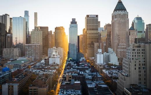 City building New York