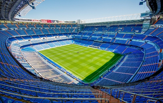 Football stadium Madrid jigsaw puzzle.