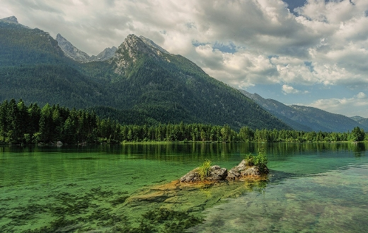 Hintersee bergsee mountains