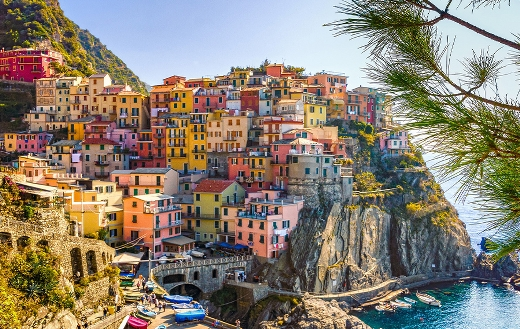 houses-by-the-sea-in-italy puzzle
