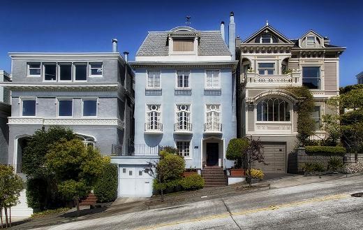 Houses San Francisco California jigsaw