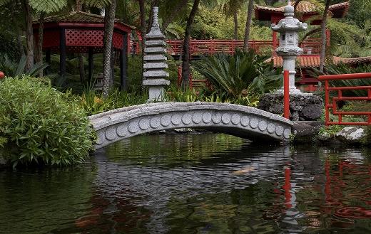 Japanese style bridge puzzle