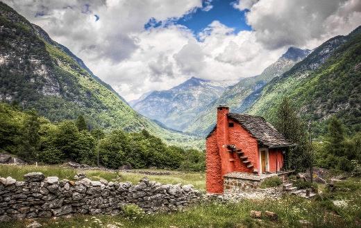 Nature mountains Switzerland