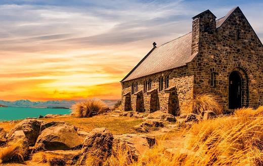 Old church landscape jigsaw