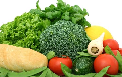 Salad vegetables diet puzzle