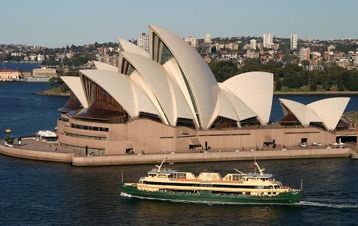 Sydney opera house jigsaw
