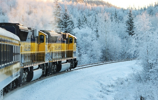 Travel train Alaska