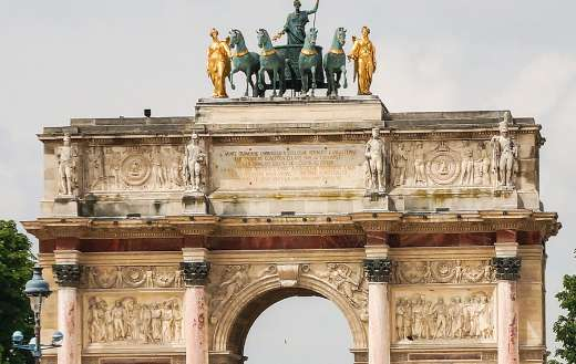 Arc De Triomphe France Paris