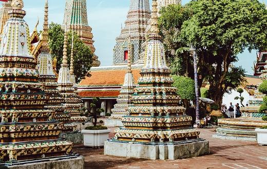 Bangkok Thailand travel puzzle