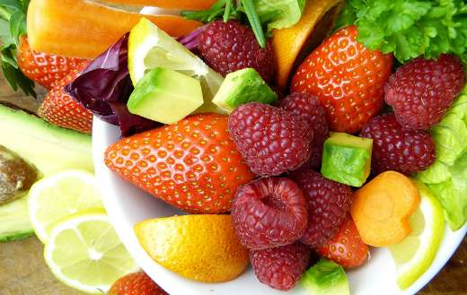 Colorful fruits online