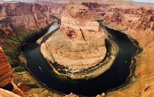 Horseshoe bend grand canyon Arizona USA