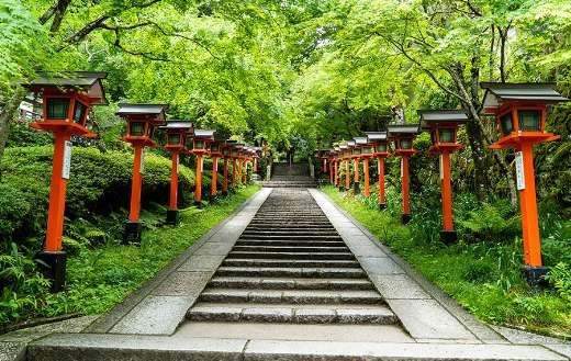 Kurama dera temple Japan online
