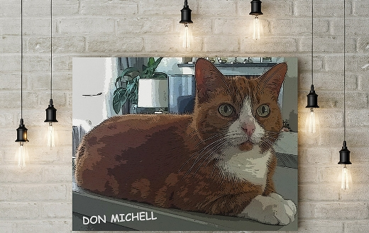 Don Michell painting