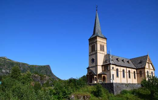 Norway church historical building architecture