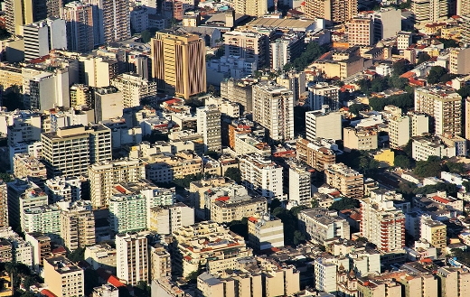 Rio view from Sugarloaf Botafogo
