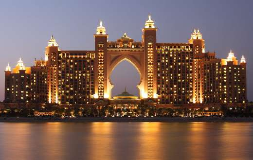 The palm atlantis Dubai puzzle