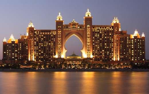 The palm atlantis Dubai puzzle