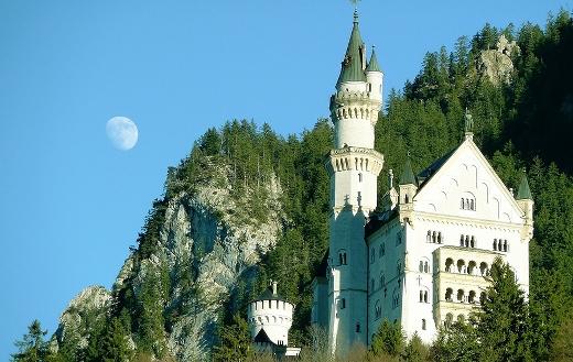 Alpine architecture attraction