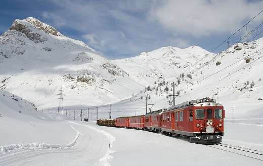 Bernina railways