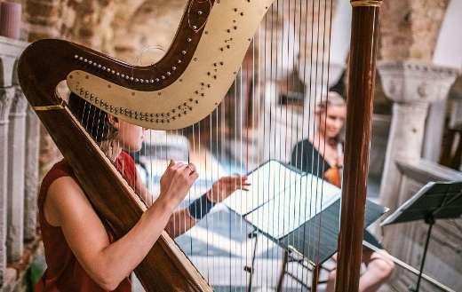 Harp classical music