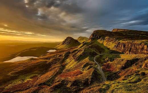 Scotland mountains landscape