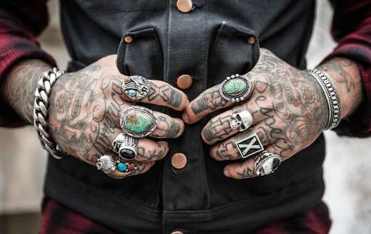 Hands tattoos drawing design accessories