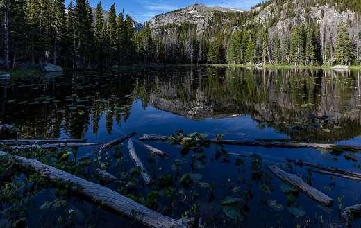 Rocky mountain national park nymph lake