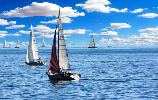 Sailing boat vacations holiday summer