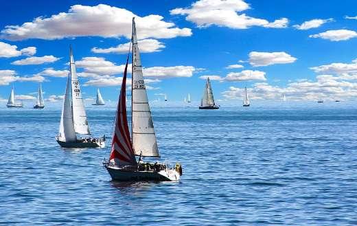 Sailing boat vacations holiday summer