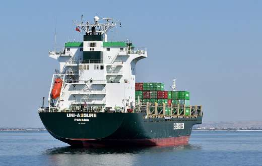 Ship cargo container transport industry