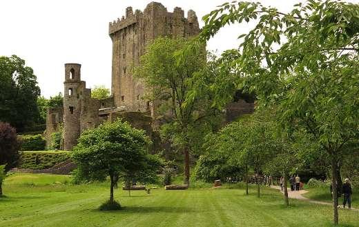 Blarney castle Ireland puzzle