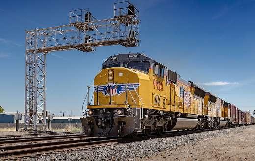 California yellow train puzzle