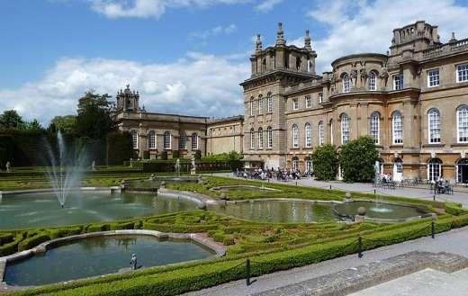 Blenheim palace puzzle